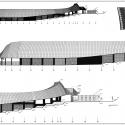 Estadio Chinquihue / Cristian Fernandez Arquitectos North Elevation