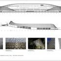 Estadio Chinquihue / Cristian Fernandez Arquitectos Elevations and Reference Images