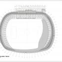 Estadio Chinquihue / Cristian Fernandez Arquitectos Roof Plan