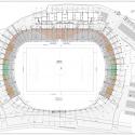 Estadio Chinquihue / Cristian Fernandez Arquitectos General Plan