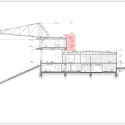 Estadio Chinquihue / Cristian Fernandez Arquitectos Section AA