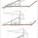 Estadio Chinquihue / Cristian Fernandez Arquitectos Typical Section, Axes 15 to 19