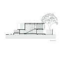 VL  House  / Rueda & Vera Arquitectos Section