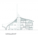 Centre Pompidou-Metz / Shigeru Ban Architects Section