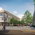 North West Cambridge Extension Proposals Enter Planning Phase Post Grad Housing. Image Courtesy of North West Cambridge