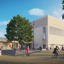 North West Cambridge Extension Proposals Enter Planning Phase Community Centre (Lot 7) / Muma and Townshend. Image Courtesy of North West Cambridge