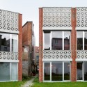 Mixed use infill 3 houses and an office / Collectief Noord © Filip Dujardin