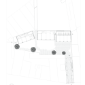 Mixed use infill 3 houses and an office / Collectief Noord Floor Plan