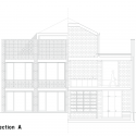 Mixed use infill 3 houses and an office / Collectief Noord Section