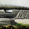 Woods Bagot Unveils New Colosseum-Inspired Stadium for AS Roma © Woods Bagot
