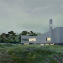 JA Curve Church / ZIP Partners Architecture Rendering 1