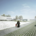 JA Curve Church / ZIP Partners Architecture Rendering 2