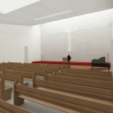 JA Curve Church / ZIP Partners Architecture Rendering 3