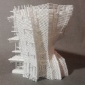 eVolo Skyscraper Winner 2014 Transforms Korean 'Hanok' Into Impressive High-Rise Model. Image © Yong Ju Lee