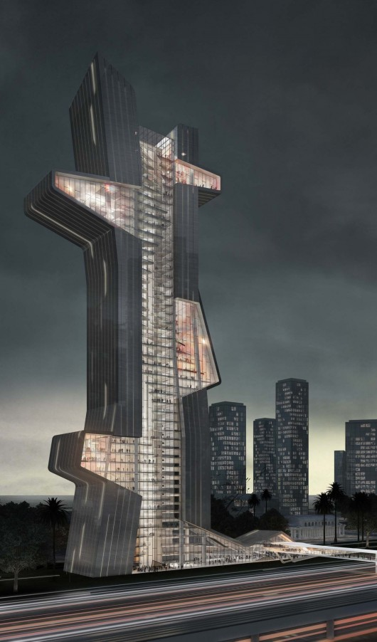 what if dubai s next tower were an architecture school archdaily