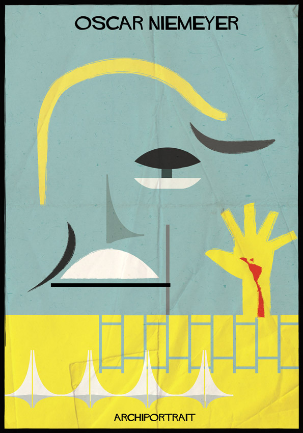 هنر پرتره و معماری: اسکار نیمایر