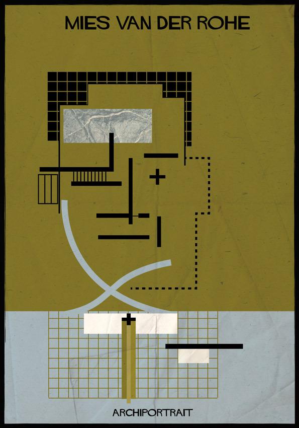 هنر پرتره و معماری:میس وندرو