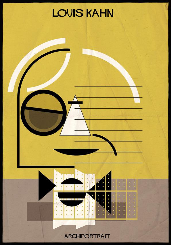 هنر پرتره و معماری:لویی کان