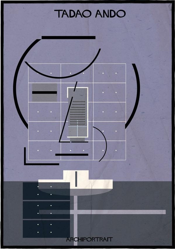 هنر پرتره و معماری: تادو آندو