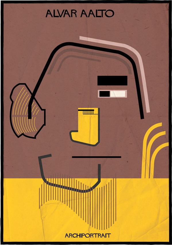 هنر پرتره و معماری: آلوارو آلتو