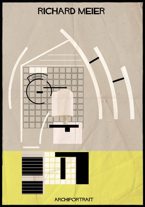 هنر پرتره و معماری: ریچارد میر