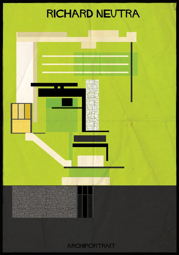 هنر پرتره و معماری: ریچارد نوترا