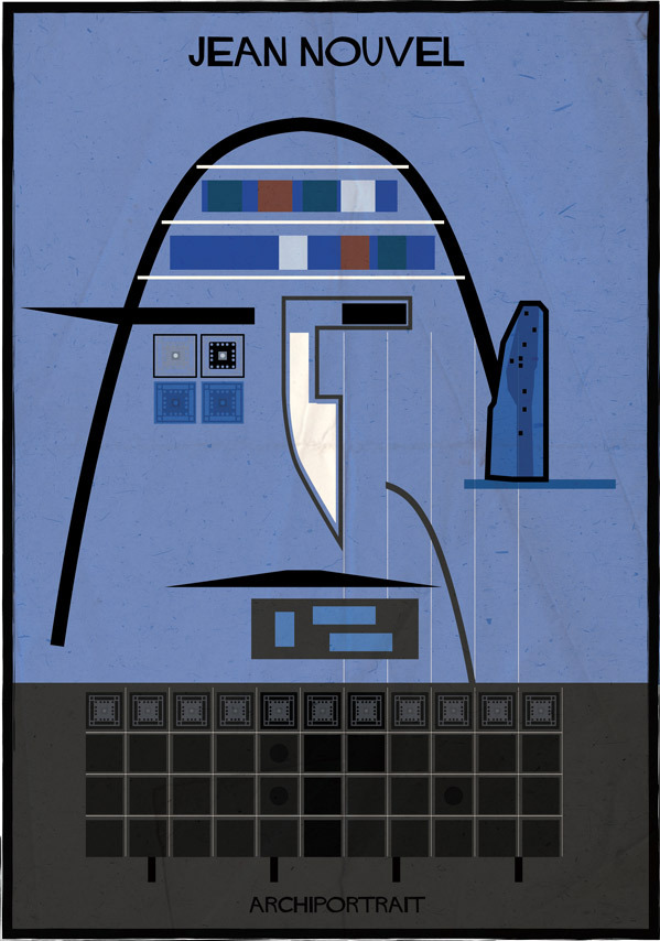 هنر پرتره و معماری: ژان نوول