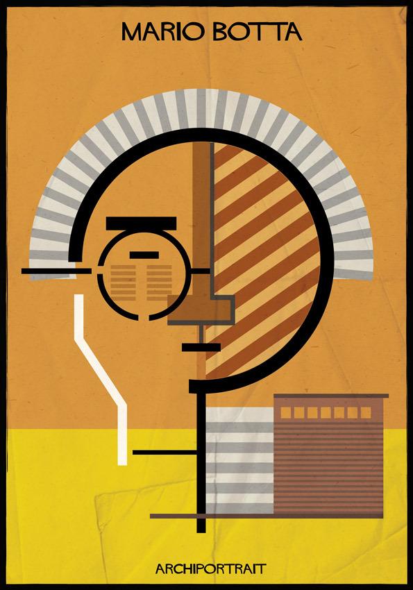 هنر پرتره و معماری: ماریو بوتا
