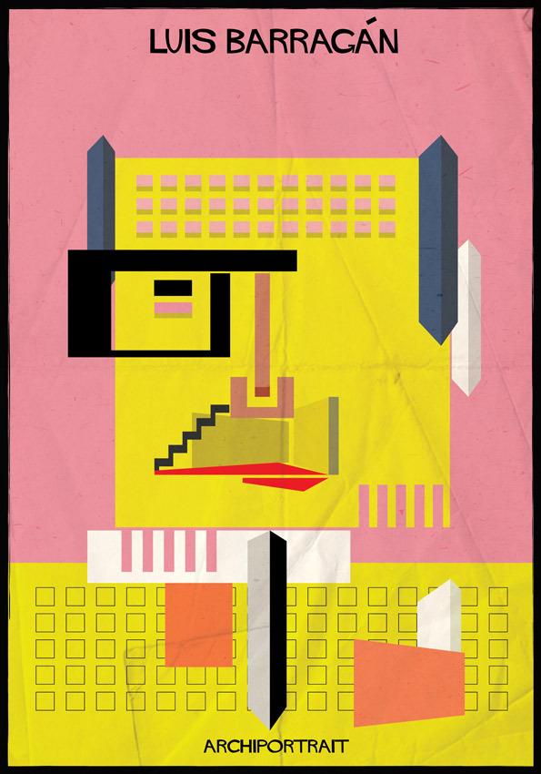 هنر پرتره و معماری: لوئیز باراگان