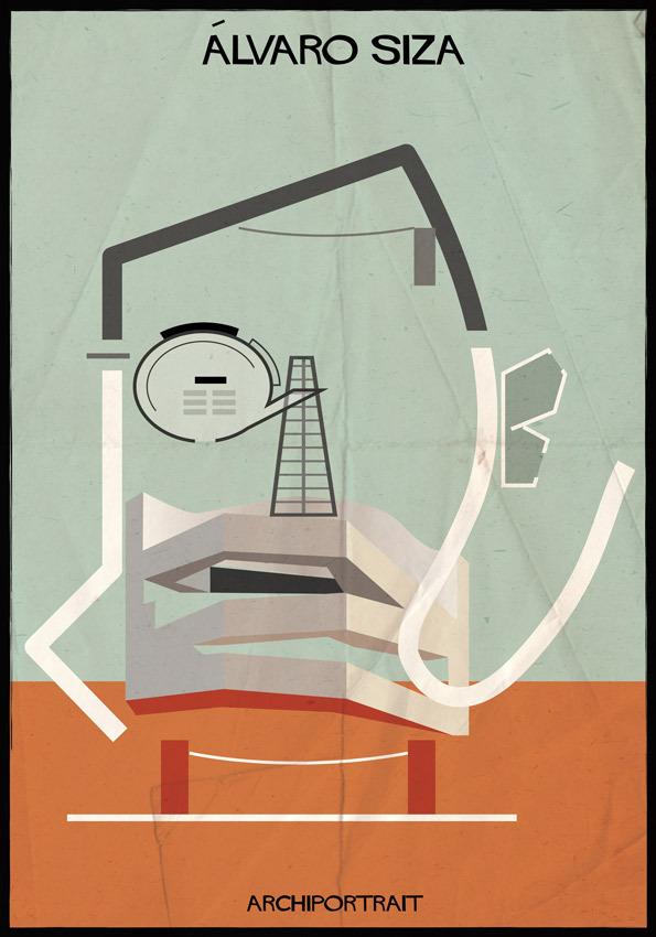 هنر پرتره و معماری: آلوارو سیزا