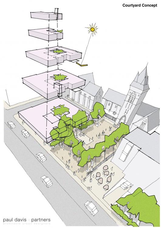 One Church Square Paul Davis Partners Archdaily