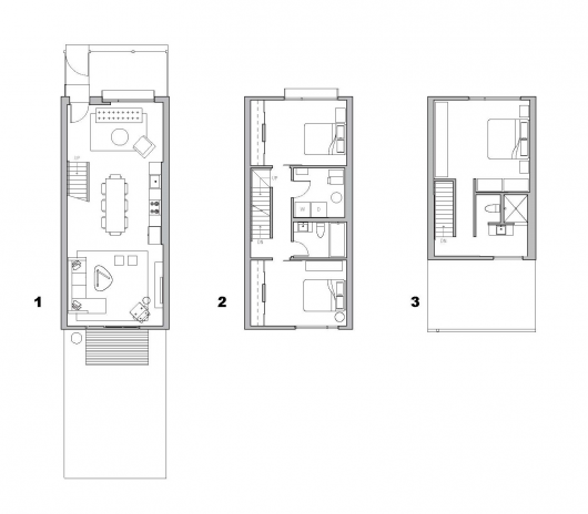Flexhouse interface studio architects sullivan for Sullivan floor plan