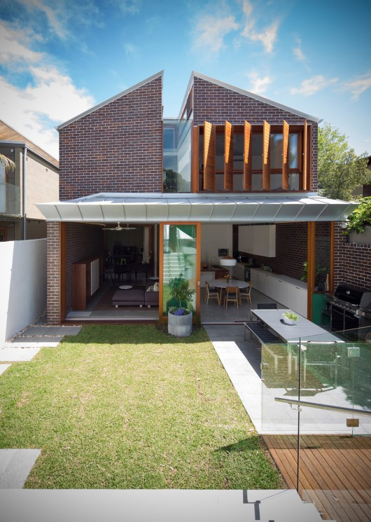 Green house carterwilliamson architects archdaily - Maison camperdown carter williamson architects ...