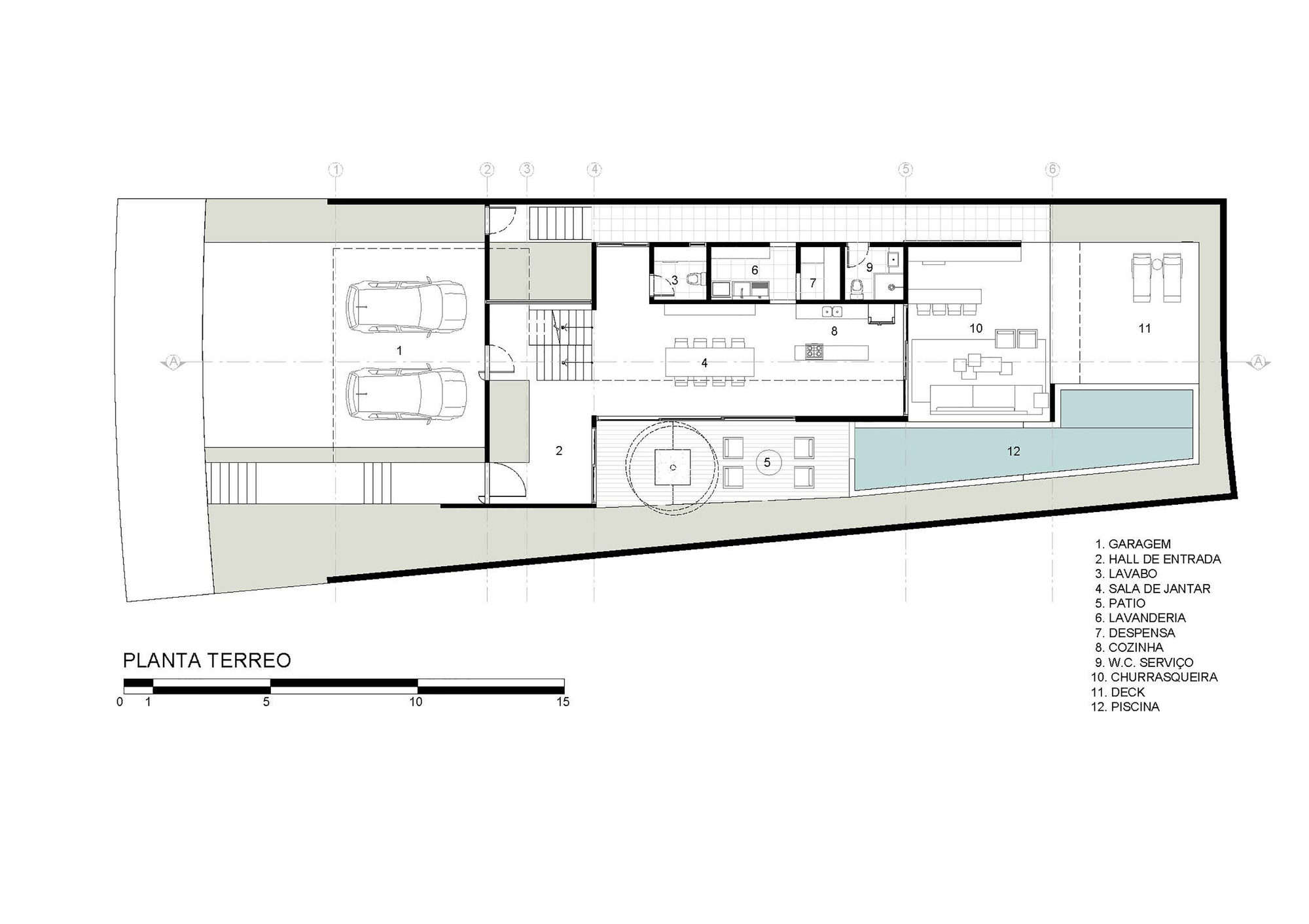 Architecture guaiume house 24 7 arquitetura design for Home design 7