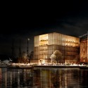 Chipperfield's Stockholm Nobel Centre Faces Harsh Opposition View towards Nybrokajen. Image © David Chipperfield Architects