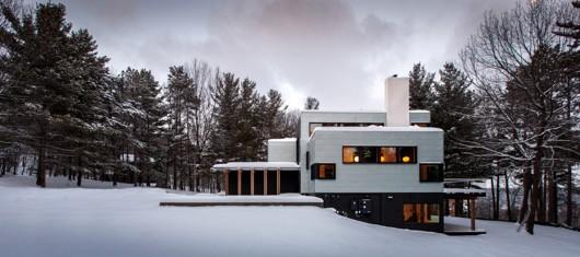 معماری و طراحی داخلی ویلایی Koosmann توسط معماران Salmela
