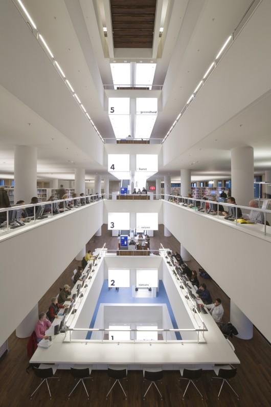 Public library amsterdam jo coenen co architekten for Design agencies amsterdam