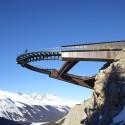 پل معلق با کانسپت فضا و یخچال های طبیعی