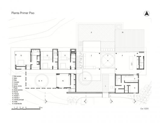 Casa 7a arquitectura en estudio natalia heredia for Arquitectura uni plan de estudios