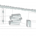 Salle festive Succieu / Guillaume Girod Architecture Floor Plan
