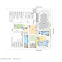 Catholic Leadership Centre / Woods Bagot Ground Floor Plan