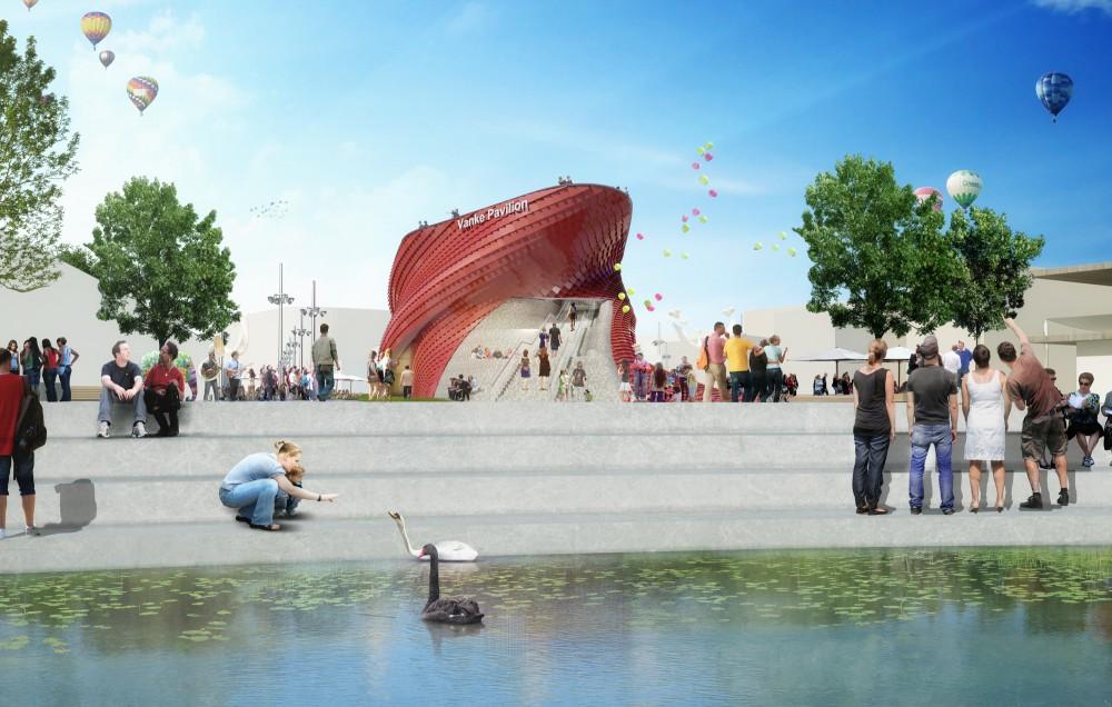 طرح پاویون چین در نمایشگاه اکسپو میلان 2015