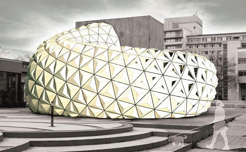 متریال ArboSkin ، متریال معماری