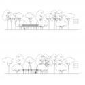 San Lucas Pavilion / FRPO Rodriguez & Oriol ARCHITECTURE LANDSCAPE Elevation