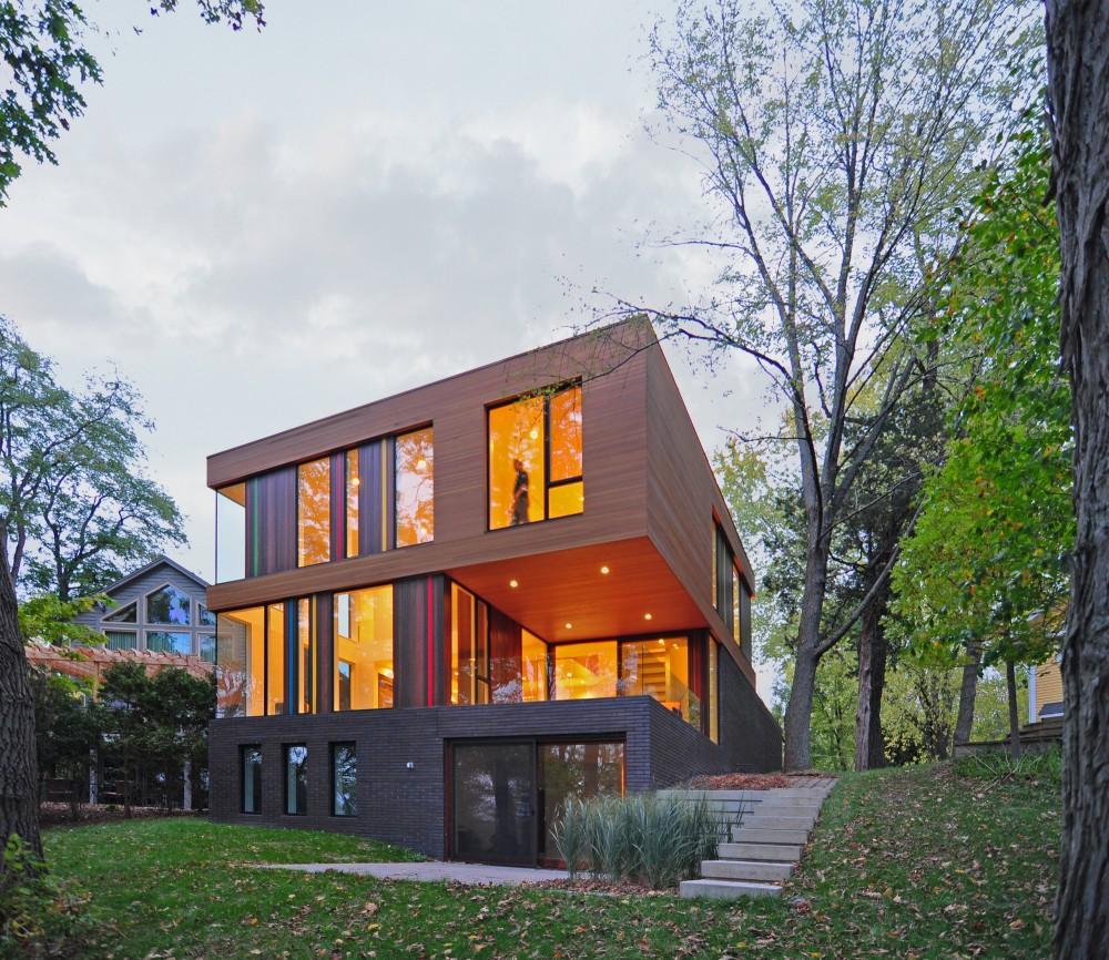 خانه Redaction با معماری Johnsen Schmaling