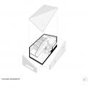 34.25° House  / Bartek Arendt + Kasia Bedra Exploded Axonometric