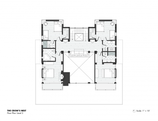 The crow s nest bcv architects archdaily for Crows nest house plans
