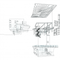 The Crow's Nest  / BCV Architects Structural Axonometric