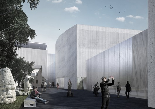 Project meganom to remodel moscow s pushkin museum of fine arts