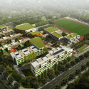 Jiangyin Primary & Secondary School / BAU Brearley Architects + Urbanists Rendering